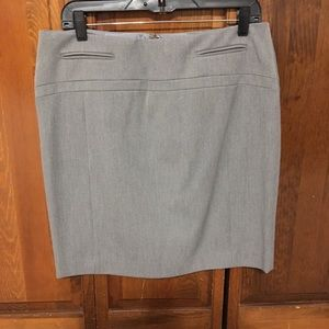 Gray Express pencil skirt new with tags